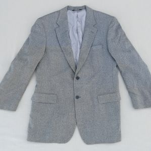 Jos. A. Bank Gray Wool Herringbone Sport Coat